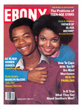 Ebony February 1983 Photographic Print by Isaac Sutton