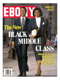 Ebony August 1987 Photographic Print by Howard Simmons