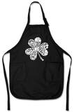 Kiss Me I'm Irish Apron Forkle