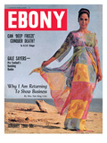 Ebony January 1966 Photographic Print by Bill Gillohm