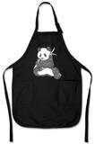 Panda Bear Apron Forkle