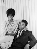Muhammad Ali  with Wife Sonji Roi, August 1964 Photographic Print by Isaac Sutton