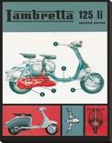 Lambretta 125 Li Lambretta Stretched Canvas Print