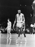 Basketball Star Wilt Chamberlain, Member of the Los Angeles Lakers, 1973 Photographic Print by Ted Williams