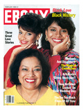 Ebony February 1988 Photographic Print by Moneta Sleet