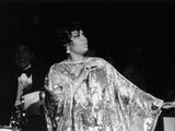 Legendary Performer Pearl Bailey Dazzles Her Audience, 1975 Photographic Print by Perry Harmon