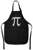 First 100 Digits of Pi Apron Apron