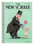 The New Yorker Cover - October 8, 2012 Regular Giclee Print by Ian Falconer