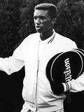 Tennis Pro Arthur Ashe, 1963. Photographic Print by Maurice Sorrell