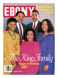 Ebony January 1987 Photographic Print by Moneta Sleet