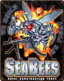 Seabees Superbee Steel Sign Wall Sign