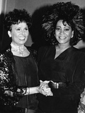 Patti Labelle, Lena Horne,  April 11, 1988 Photographic Print by Maurice Sorrell