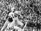 Doug Williams,  Throws a Long Pass, 1979 Photographic Print by Vandell Cobb