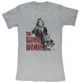 Juniors: Bionic Woman Shirts