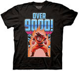 Dragon Ball Z - Over 9000 Goku Shirts