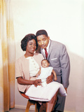 Sarah Vaughan and Family, 1961 Photographic Print by G. Marshall Wilson