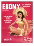 Ebony August 1952 Photographic Print by David Jackson