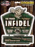 The Proud Infidel Sticker Stickers