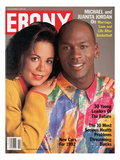 Ebony November 1991 Photographic Print by Howard Simmons