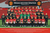 Manchester United Team Photo 2012/2013 Print