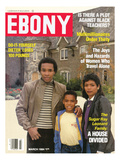 Ebony March 1984 Photographic Print by Maurice Sorrell