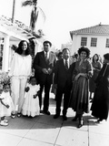 Muhammad Ali and Family at Ali's Semi-Open House, June of 1979 Photographic Print by Isaac Sutton