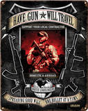 Have Gun Will Travel Steel Sign Wall Sign