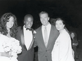 Sugar Ray Leonard and Bernadette Robi, Wedding Ceremony,  August 1993 Photographic Print by Vandell Cobb