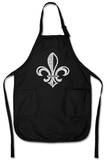 Fleur De Lis Apron Apron