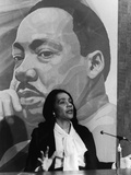 Coretta Scott King, March 24, 1978 Photographic Print by Harmon Perry
