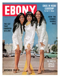 Ebony November 1966 Photographic Print by Bill Gillohm