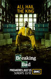 Breaking bad, affiche de la série télé créée par Vince Gilligan Photo
