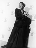 Natalie Cole Is Photographed, 31st Annual Grammy Awards, February 22, 1989 Photographic Print by Isaac Sutton