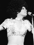 Fifth Dimension Lead Singer Marilyn Mccoo in Concert Photographic Print by Isaac Sutton
