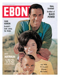 Ebony September 1966 Photographic Print by Bill Gillohm