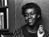 Renowned Poet Gwendolyn Brooks, May 1968, Photographic Print by Howard Simmons