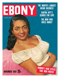 Ebony November 1956 Photographic Print by Moneta Sleet
