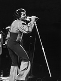 James Brown, Performs in Zaire, Africa, October 1974 Photographic Print by G. Marshall Wilson