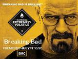 Breaking bad, affiche de la s&#233;rie&#160;t&#233;l&#233; cr&#233;&#233;e par Vince Gilligan Photo
