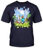 Minecraft - Aventura : camiseta para adolescentes Remera
