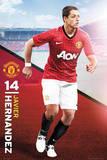 Javier Hernandez - Manchester United Posters