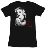 Juniors: Marilyn Monroe - Hottie T-Shirts