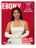 Ebony April 1957 Photographic Print by Moneta Sleet