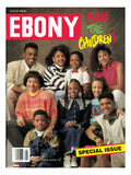 Ebony August 1988 Photographic Print by Howard Simmons