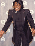 James Brown Makes an Appearance at the 34th Annual Grammy Awards, February 25, 1992 Photographic Print by Frederick Watkins