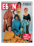 Ebony October 1961 Photographic Print by Moneta Sleet