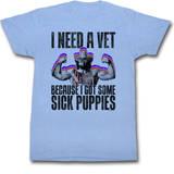 Macho Man - Sick Puppies Skjorte