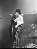 Prince, Shirtless During Concert, 1984 Photographic Print by Michael Cheers