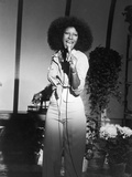 Acclaimed Vocalist Natalie Cole Performing, 1976 Photographic Print by Isaac Sutton