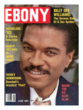 Ebony June 1983 Photographic Print by Isaac Sutton